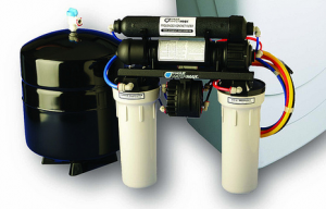 Hordozható víztisztító készülék